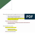 CM Descriptive Profile (Artifact H)