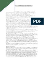 Antropología Corrientes antropológicas Grupo 3
