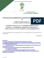 Dinâmicas de integração dos imigrantes_ estratégias e protagonistas
