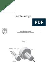 Gear Metrology