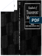 Handbook of TRANSPORT MODELLING Button and Hensher