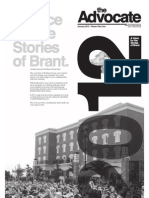 The Brant Advocate, Issue 5, January 2012