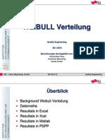 Presentation QE Weibull