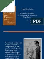 Radcliffe-Brown Sistemas Africanos