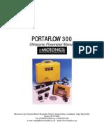 Porta Flow 300 Manual
