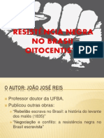 aula - RESISTÊNCIA NEGRA NO BRASIL OITOCENTISTA