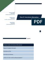 Inversiones Alternativas Dic 2012
