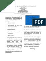 informe Amplificadores Operacionales Aplicados en Instrumentación