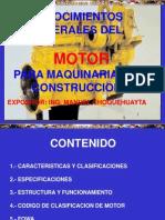 Curso Motores Maquinaria Pesada Construccion