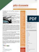 Fraude à la TVA sur les voitures d' occasion  Impôts et éco