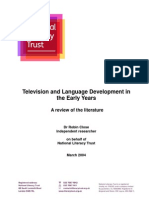 TV Language Early Years 2004