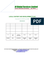 Nigerin Content Dev Plan and Policy