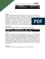 Hommerding, Nádia - Profissionais da informação e o mapeamento