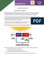 Solar Energy Fundamentals