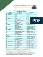 2-Calendario de Aulas - Aprimoramento Mediunico