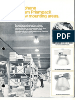 Holophane Bantam Prismpack Series Brochure 3-75