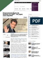 Financement libyen de Sarkozy en 2007