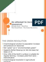 essay on green revolution in 500 words