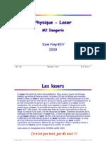 Cours M2 Physique Laser 2009 1