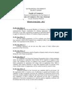 External M_ Com_ Ordinances and Regulations