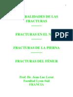 Cap 1. Fracturas - Generalidades