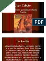 Unidad 1 Juan Caboto el veneciano que descubrió Norteamérica - David Villa