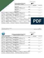 Start list των απογευματινών προκριματικών Σαββάτου.