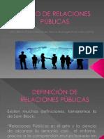 CURSO DE RELACIONES  PÚBLICAS