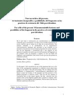 Fragmentación social y prácticas de resistencia en la Post-dictadura chilena