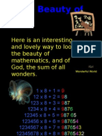 The Beauty of Maths