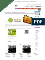 Superdicas - Astro File Manager_ Faça Backup de Aplicativos no Android