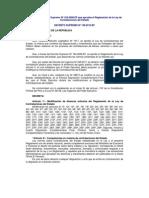 Nuevo Reglamento Contrataciones 2012