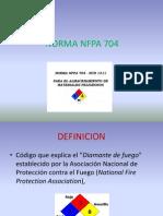 NORMA NFPA 704 Diapositivas