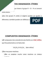 COMPUESTOS OXIGENADOS_ÉTER