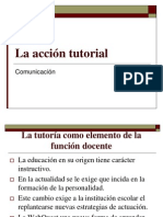 COMUNICACIÓN acción tutorial power