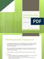 STEM Reorganization FC-STEM51