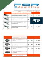 Lista de Precio Bfor