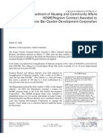 Lone Star Garden Development audit
