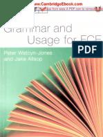 Test Your Grammar & Usage For FCE.pdf