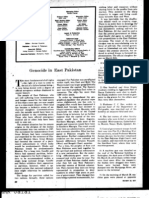 Genocide in East Pakistan ( Saturday Review, May 22, 1971 )