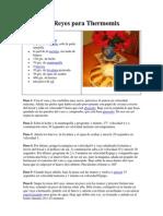 Roscón de Reyes para Thermomix