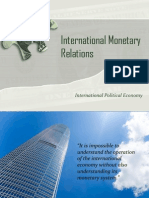 International Monetary Relations