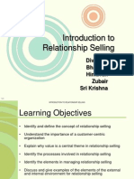 Relationship Selling Ppt