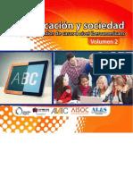 Tic Educacion y Sociedad Volumen2