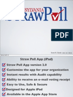Pennsylvania Straw Poll Results 2013
