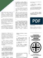 Normas a Se Seguir Sobre Eucaristia - Ministros