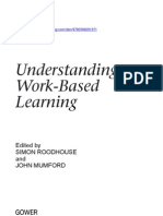 Understanding Work Based Learning