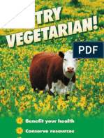 Try Vegetarian lose weight stay healthy save the environment and the animals