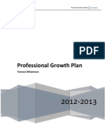 professional growth plan -- tamara whatmore