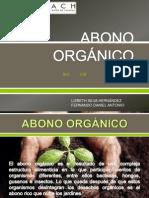 ABONO ORGÁNICO- COMPOST